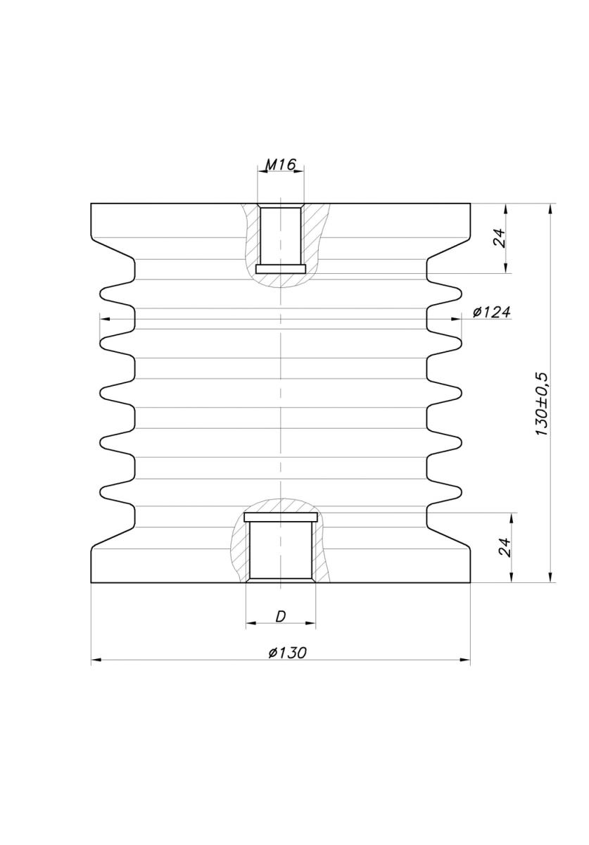 Параграф 4 монтаж опорных изоляторов